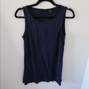 Mercer and Madison Navy Stretch Tank